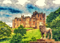 Alnwick Castle by Tanya  Hall