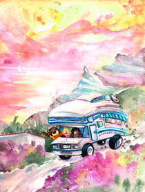 Truffle McFurry On His Way To The Cabo De Gata by Miki de Goodaboom