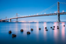 The Bay Bridge, San Francisco by Martin Williams