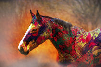 The painted horse by Shumilov Ludmila