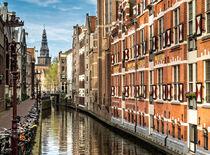 Amsterdam - Oudezijds Kolk   von Thomas Seethaler