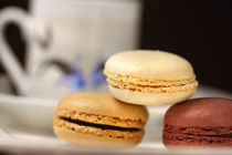Espresso Time With Macarons von lizcollet