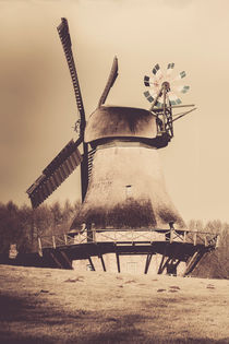 'Hollingstedter Windmühle' by Peter Eggermann