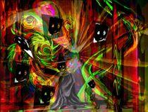 Magisches Spiel mit dem Schatten von Heidrun Carola Herrmann