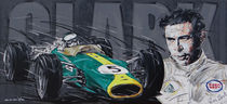 F1 Jim Clark Lotus von Minocom Art Gallery
