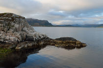 fjord and rocks by hannes-bielefeldt