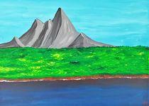 Einsamer Berg / lonely mountain von Mischa Kessler