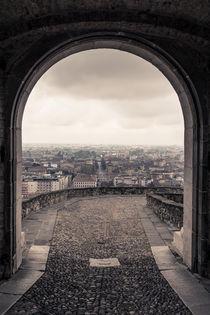 Torbogen zu Bergamo von Jochen Conrad