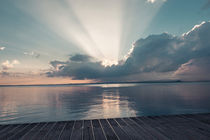 Sonnenuntergang über dem Gardasee by Jochen Conrad