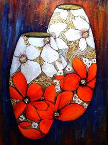 Rote Vasen von Irina Usova