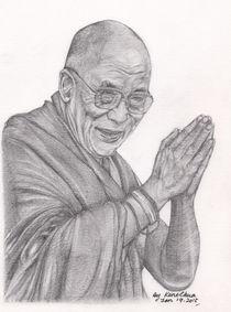 Dalai Lama Tenzin Gyatso von Kent Chua