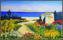 Summer day in Provence by Yuri Hope