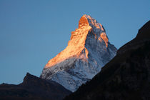 Zermatt : Sonnenaufgang am Matterhorn  von Torsten Krüger