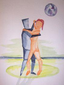 Paar-tanzend