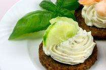 Frischkaese-und-gemuese