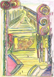 'Spaziergänger in der Ewigkeit / walkers within eternity' by Claudia Juliette Dittrich