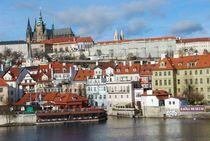 Burgviertel in Prag... 5 von loewenherz-artwork