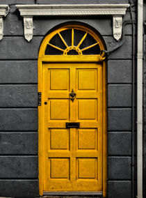 'Yellow Door - Dingle' by Christoph Stempel