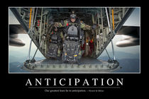Anticipation Motivational Poster by Stocktrek Images