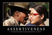 Assertiveness Motivational Poster von Stocktrek Images