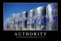 Authority Motivational Poster von Stocktrek Images