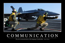 Communication Motivational Poster von Stocktrek Images