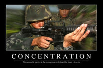 Concentration Motivational Poster von Stocktrek Images