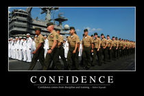 Confidence Motivational Poster von Stocktrek Images