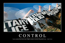 Control Motivational Poster von Stocktrek Images