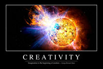 Creativity Motivational Poster von Stocktrek Images