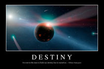 Destiny Motivational Poster by Stocktrek Images