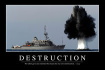 Destruction Motivational Poster von Stocktrek Images