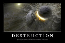 Destruction Motivational Poster by Stocktrek Images