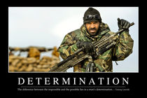 Determination Motivational Poster by Stocktrek Images