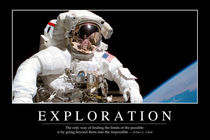 Exploration Motivational Poster von Stocktrek Images
