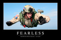 Fearless Motivational Poster von Stocktrek Images