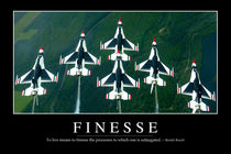 Finesse Motivational Poster by Stocktrek Images