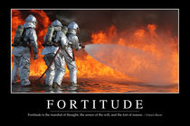 Fortitude Motivational Poster by Stocktrek Images