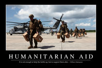 Humanitarian Aid Motivational Poster von Stocktrek Images