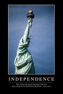 Independence Motivational Poster von Stocktrek Images