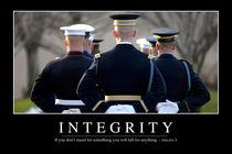 Integrity Motivational Poster von Stocktrek Images