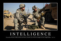 Intelligence Motivational Poster by Stocktrek Images