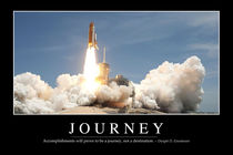 Journey Motivational Poster by Stocktrek Images