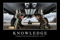 Knowledge Motivational Poster by Stocktrek Images