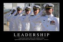 Leadership Motivational Poster von Stocktrek Images