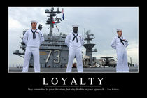 Loyalty Motivational Poster by Stocktrek Images