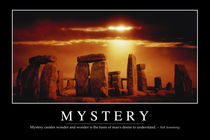 Mystery Motivational Poster von Stocktrek Images