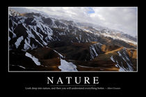 Nature Motivational Poster by Stocktrek Images