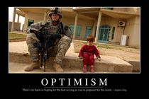 Optimism Motivational Poster by Stocktrek Images