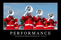 Performance Motivational Poster by Stocktrek Images